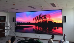 空军工程大学室内P3全彩LED显示屏!