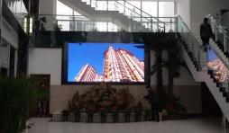 江苏中南建筑室内LED显示屏工程(P4)!