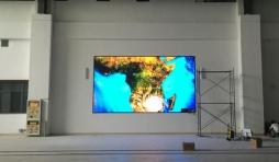二炮工程大学4块P3LED显示屏由冠铭光电承制!